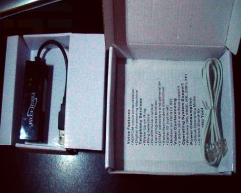 TECH-COM USB FAX MODEM